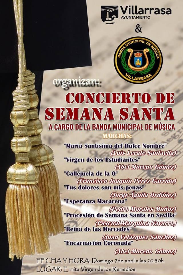Concierto de Semana Santa 2019 - Villarrasa (Huelva)