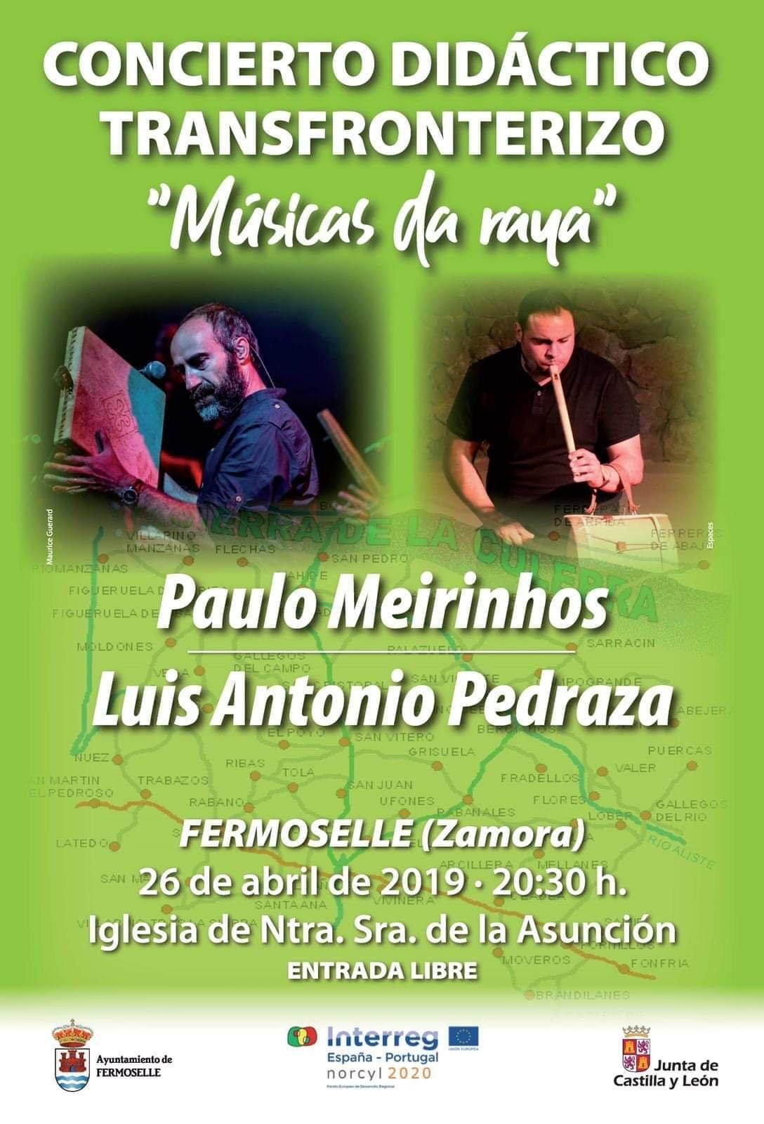 Concierto didáctico transfronterizo 2019 - Fermoselle (Zamora)