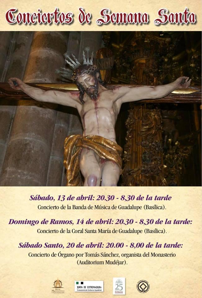 Conciertos de Semana Santa 2019 - Guadalupe (Cáceres)