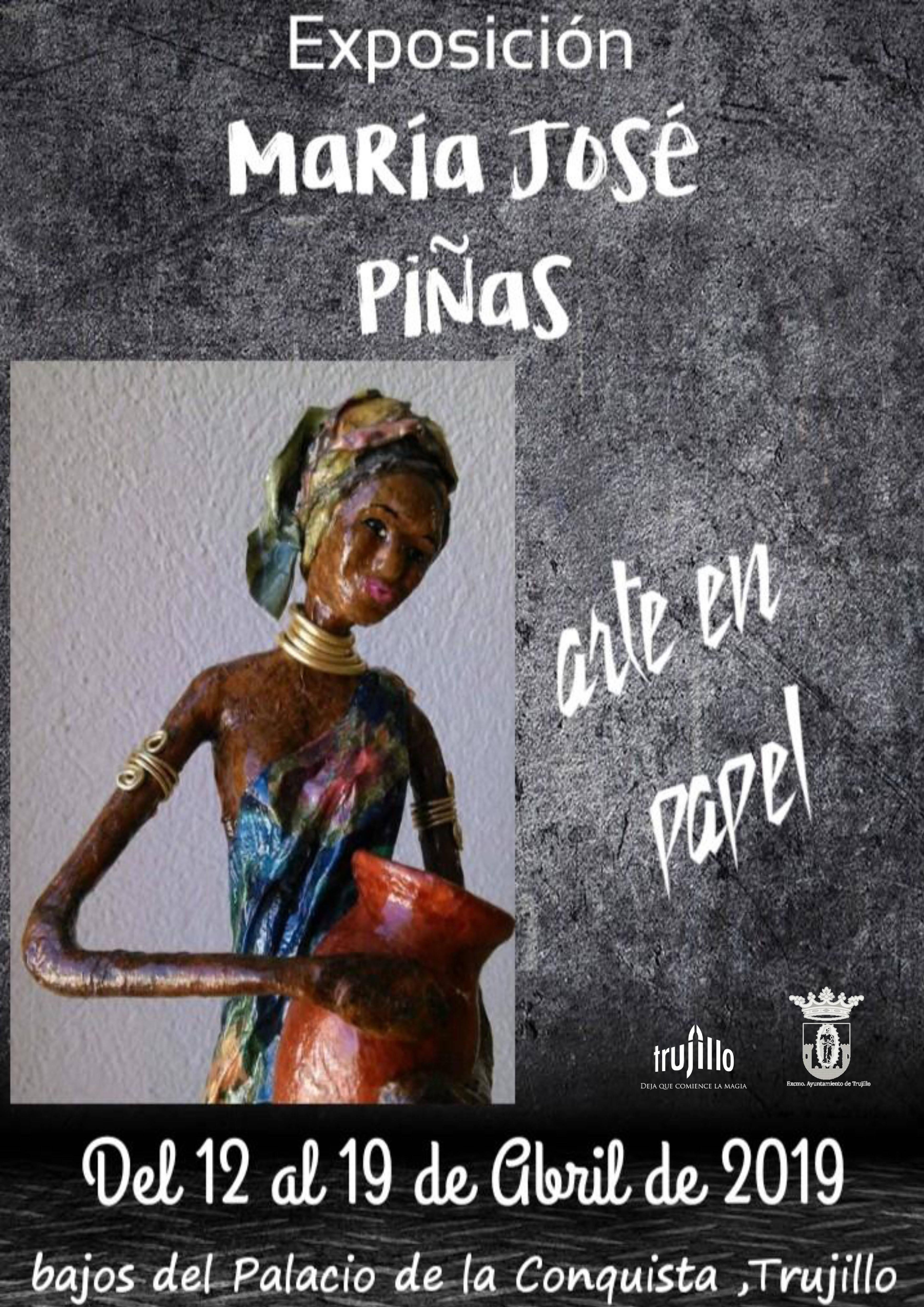 Exposición de María José Piñas 2019 - Trujillo (Cáceres)