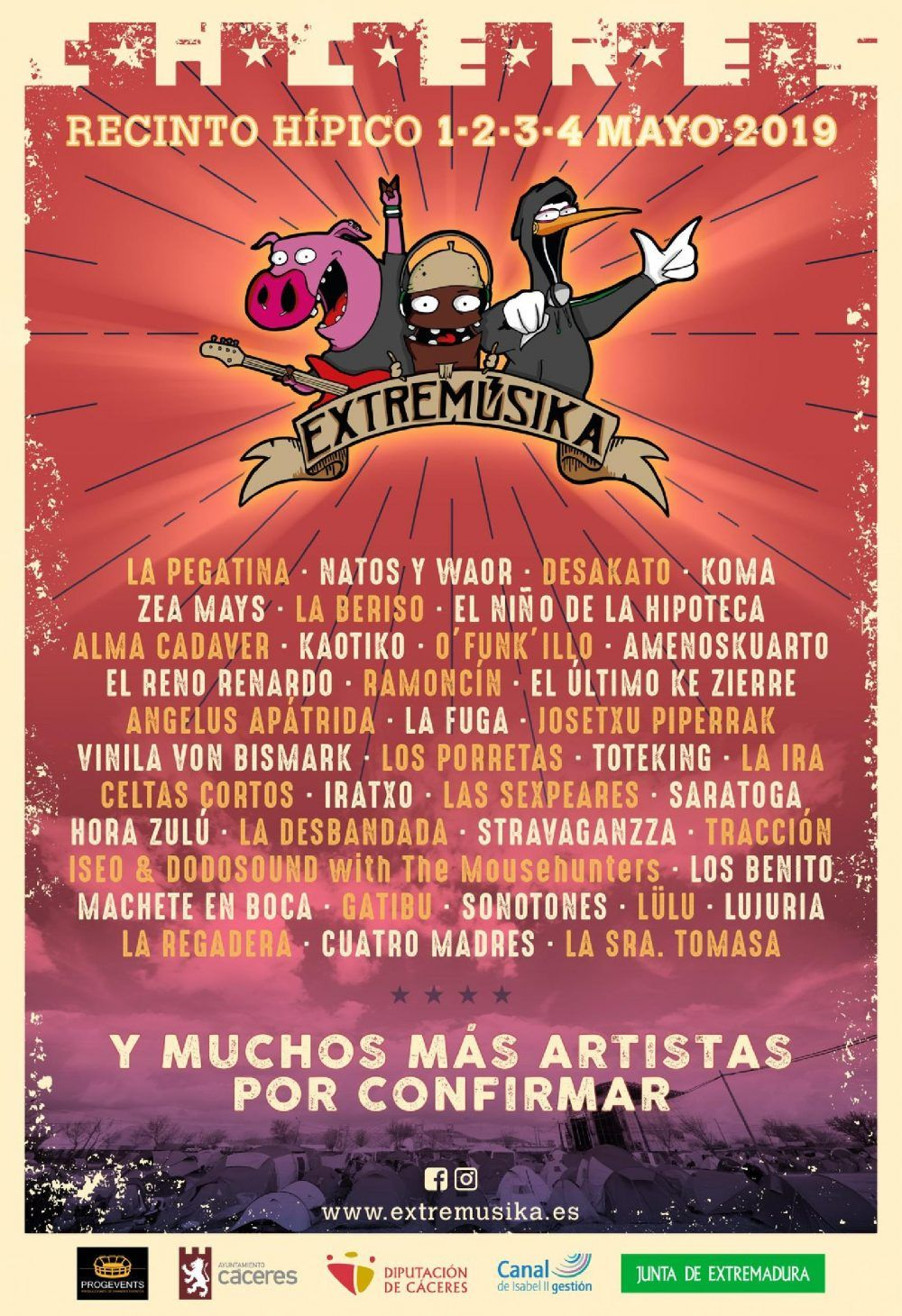 Extremúsika 2019 - Cáceres