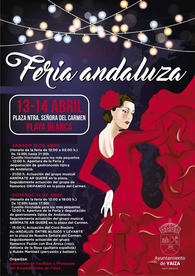 Feria andaluza 2019 - Yaiza (Las Palmas)