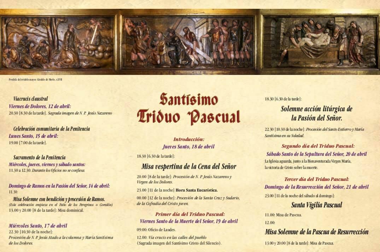 Horarios de la Semana Santa 2019 - Guadalupe (Cáceres) 2