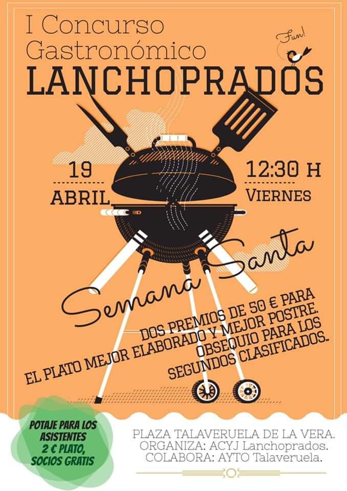 I Concurso gastronómico Lanchoprados - Talaveruela de la Vera (Cáceres)