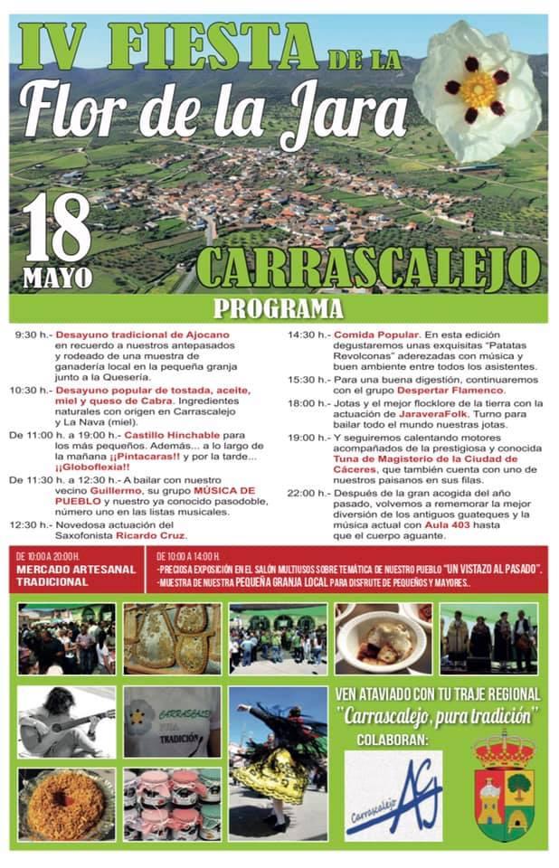 IV Fiesta de la Flor de la Jara - Carrascalejo (Cáceres)