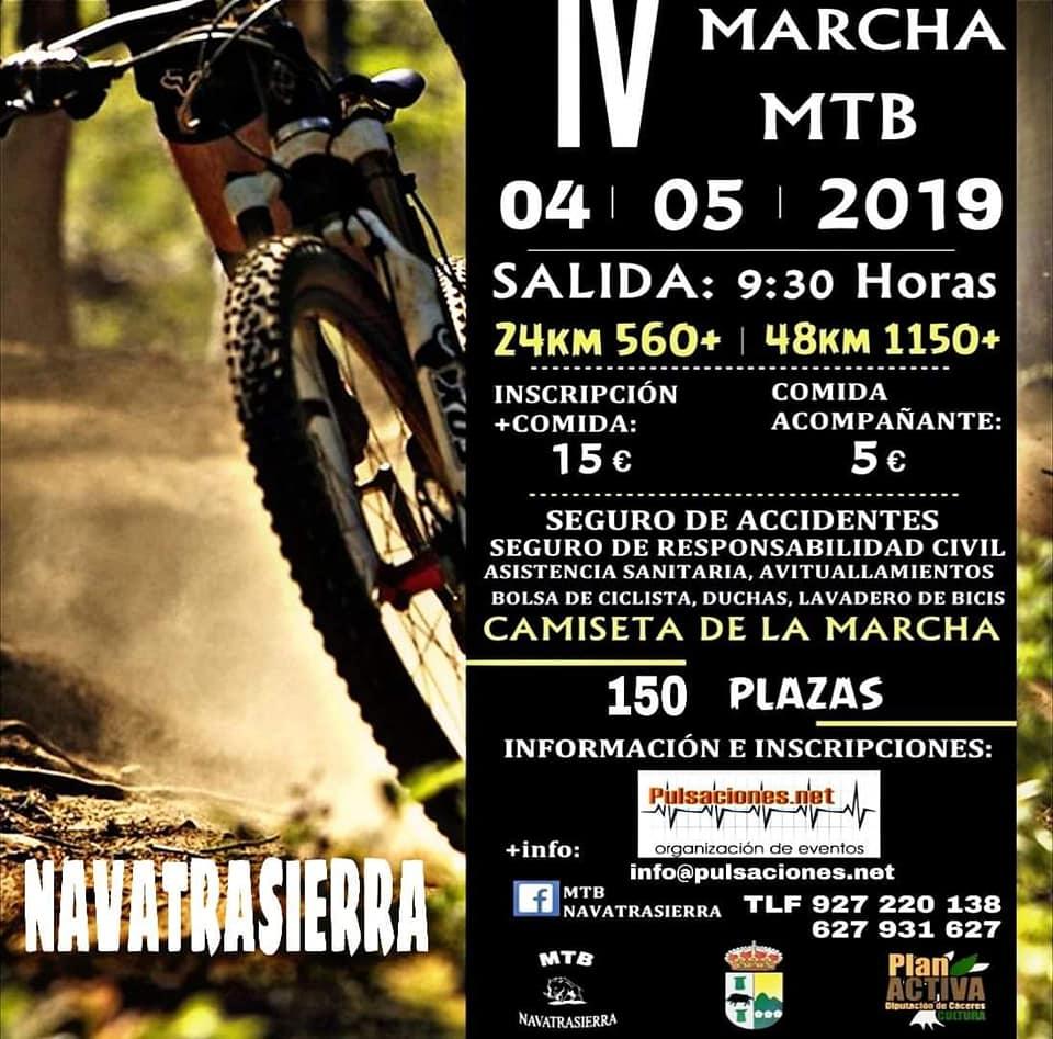IV Marcha MTB - Navatrasierra (Cáceres)