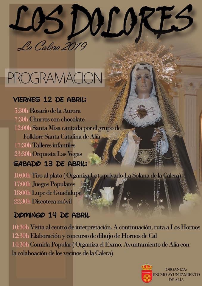 Los Dolores 2019 - La Calera (Cáceres)