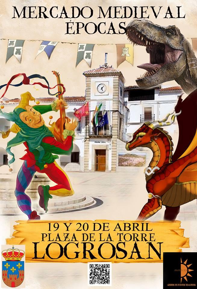 Mercado medieval 2019 - Logrosán (Cáceres)
