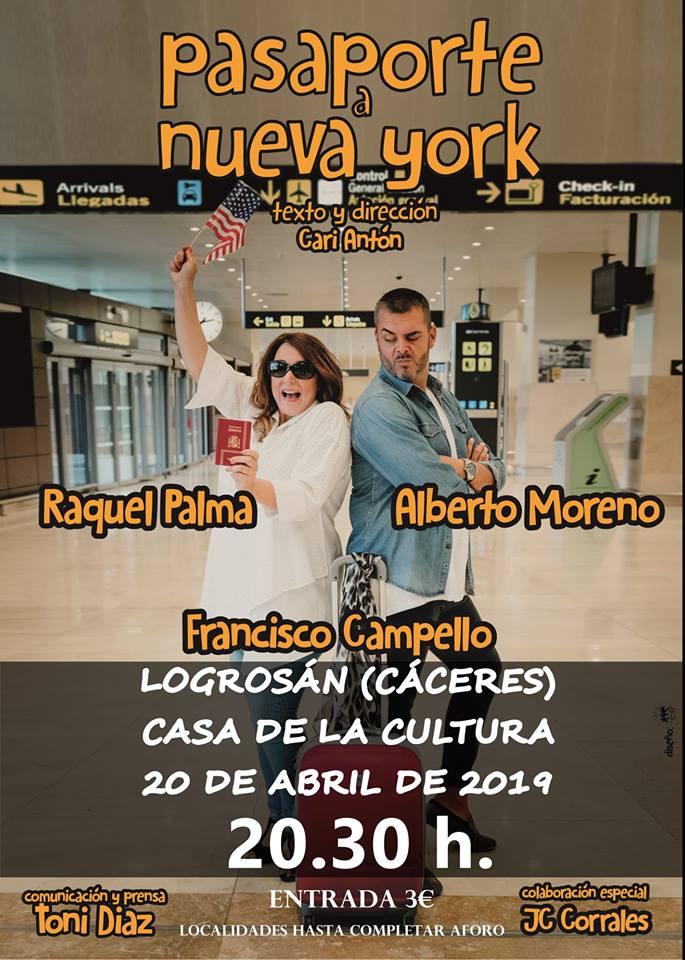 Musical Pasaporte a Nueva York 2019 - Logrosán (Cáceres)