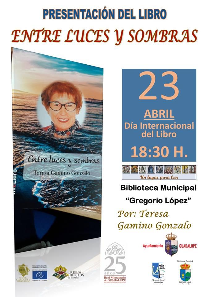 Presentación del libro Entre luces y sombras - Guadalupe (Cáceres)