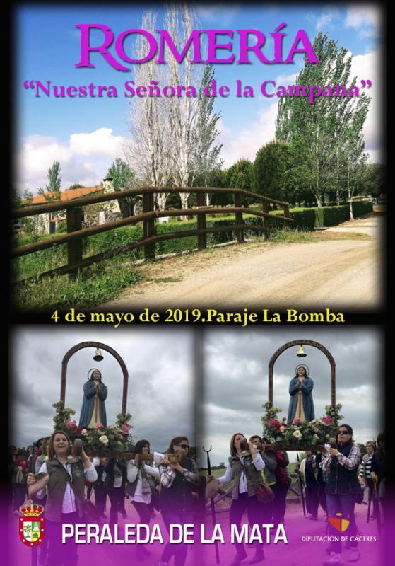 Romería Virgen de la Campana 2019 - Peraleda de la Mata (Cáceres)