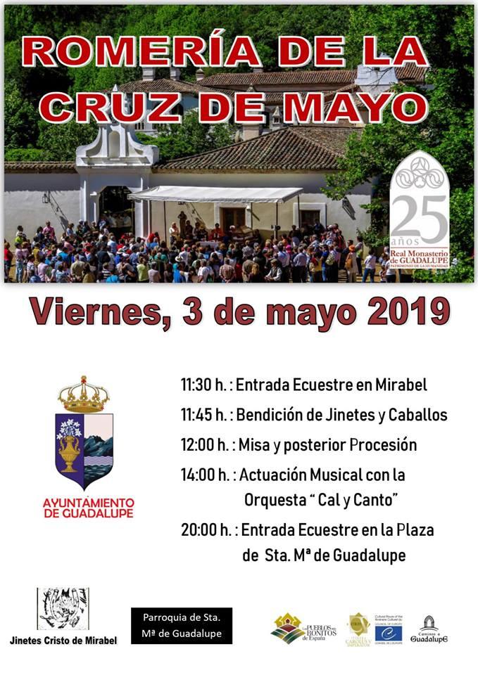 Romería de La Cruz 2019 - Guadalupe (Cáceres)