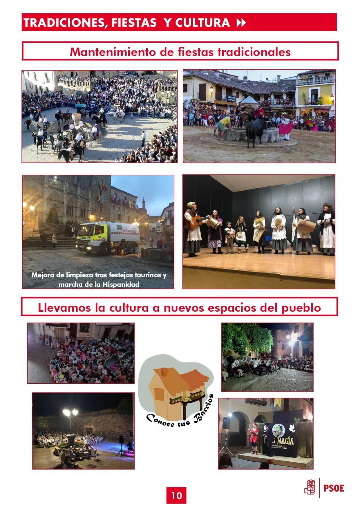 Boletín informativo de gestión municipal 2015-2019 - Guadalupe (Cáceres) 10