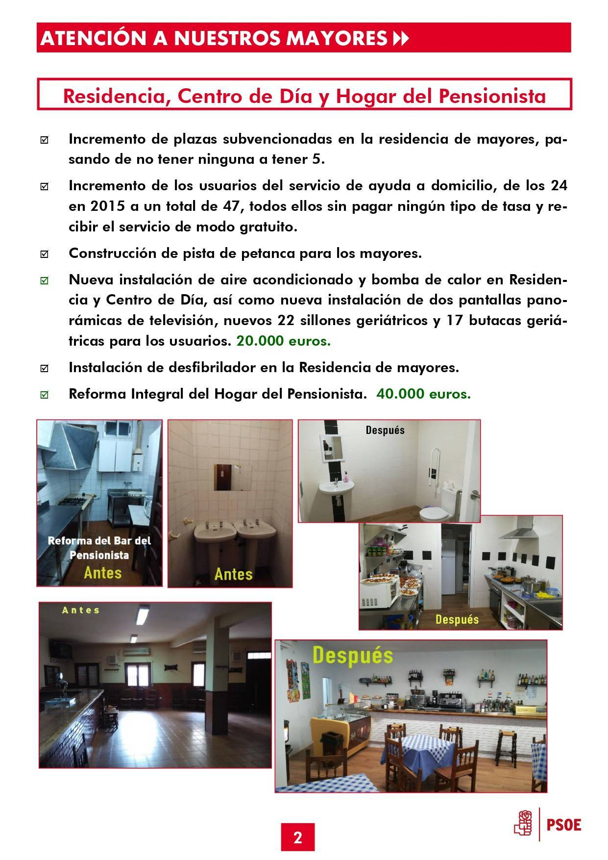Boletín informativo de gestión municipal 2015-2019 - Guadalupe (Cáceres) 2