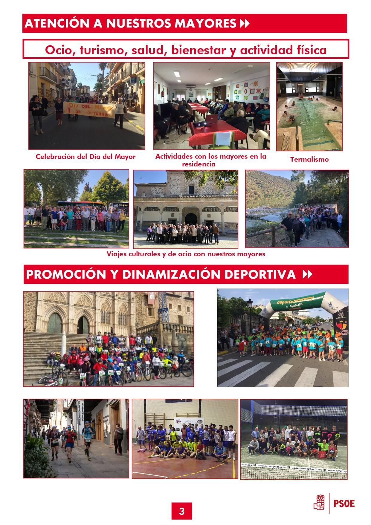 Boletín informativo de gestión municipal 2015-2019 - Guadalupe (Cáceres) 3