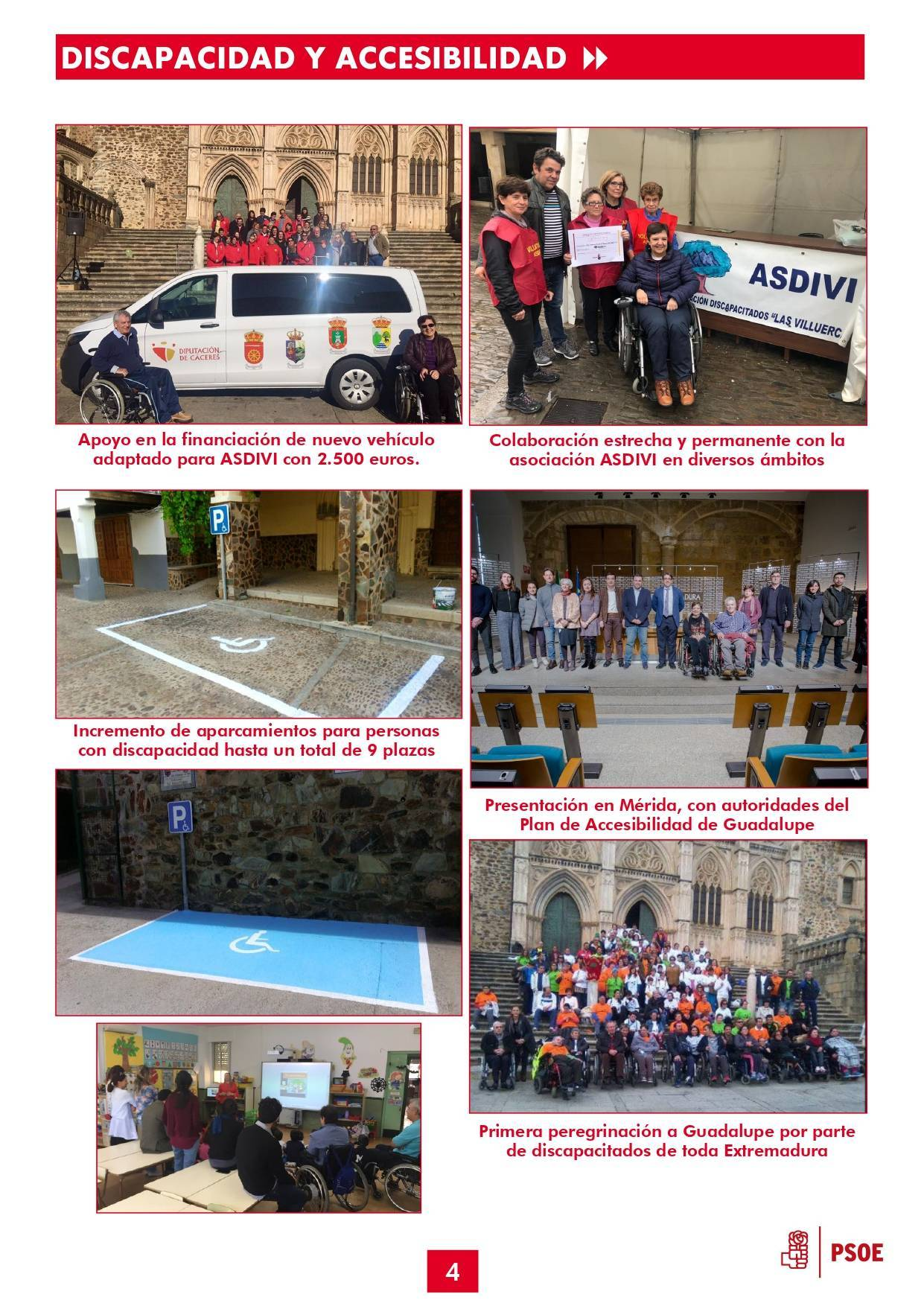 Boletín informativo de gestión municipal 2015-2019 - Guadalupe (Cáceres) 4