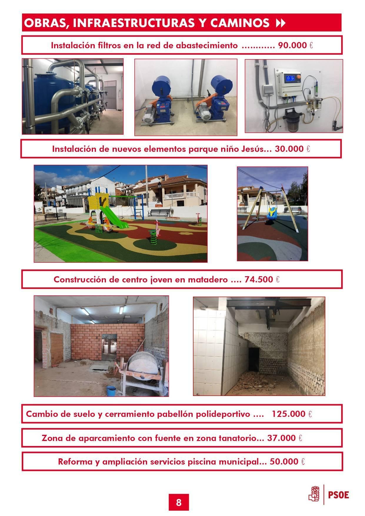 Boletín informativo de gestión municipal 2015-2019 - Guadalupe (Cáceres) 8