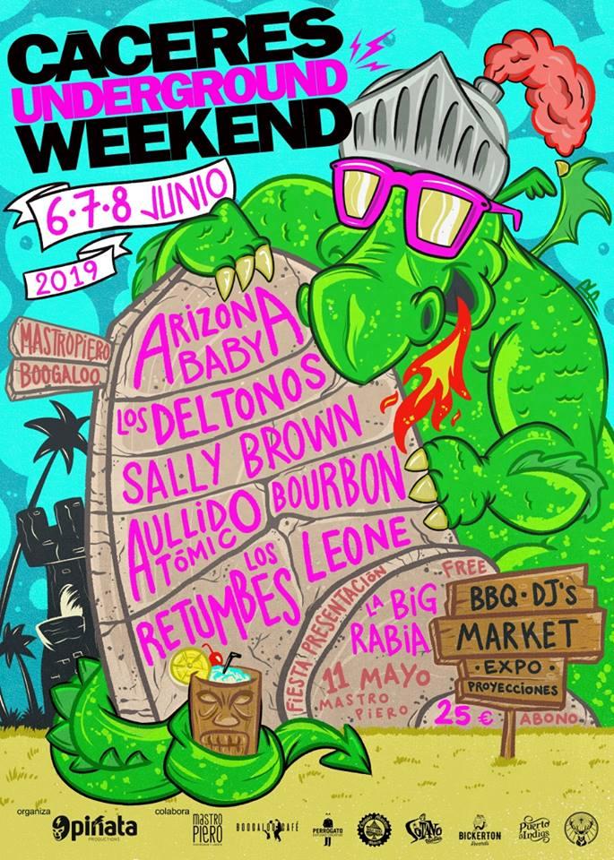 Cáceres Underground Weekend 2019