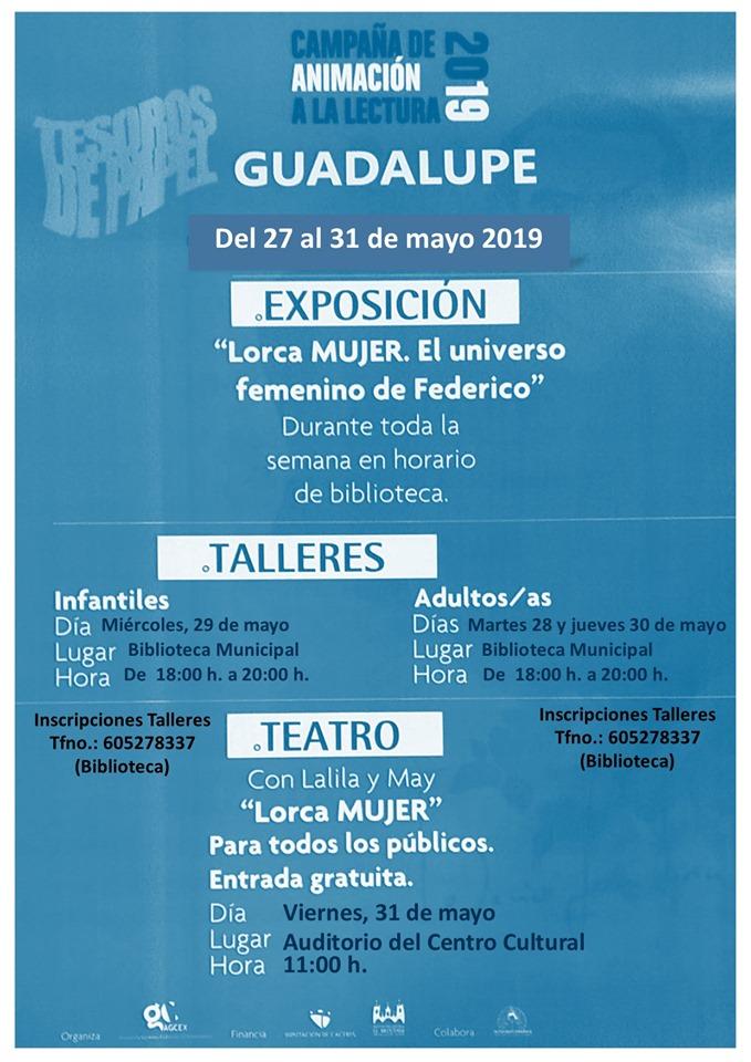 Campaña de animación a la lectura 2019 - Guadalupe (Cáceres)