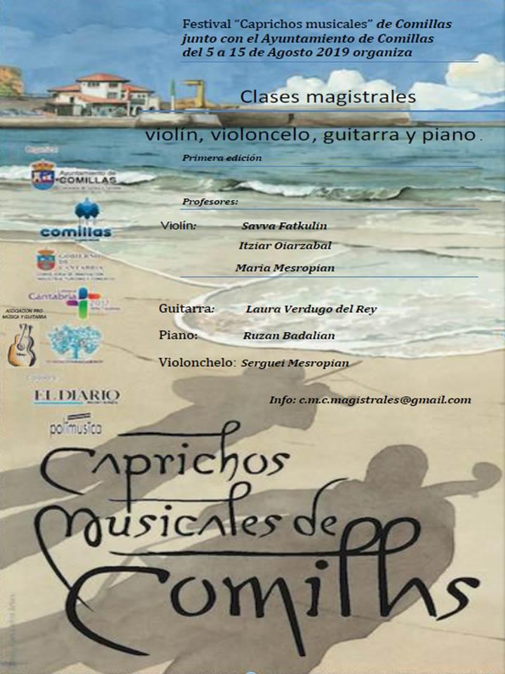 Caprichos musicales 2019 - Comillas (Cantabria)
