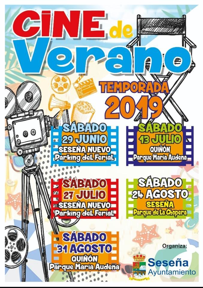 Cine de verano 2019 - Seseña (Toledo)