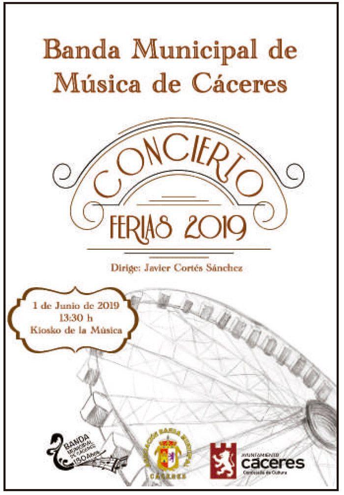 Concierto de música de las ferias 2019 - Cáceres