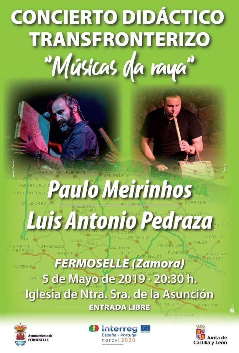 Concierto didáctico transfronterizo mayo 2019 - Fermoselle (Zamora)
