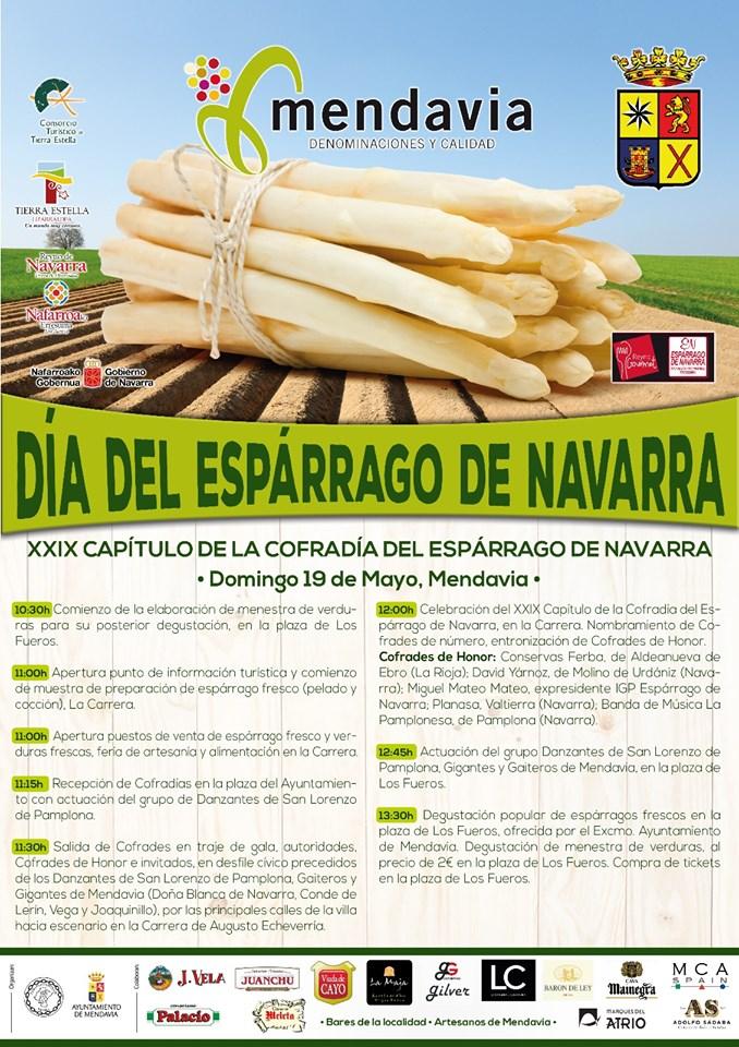 Día del espárrago de Navarra 2019
