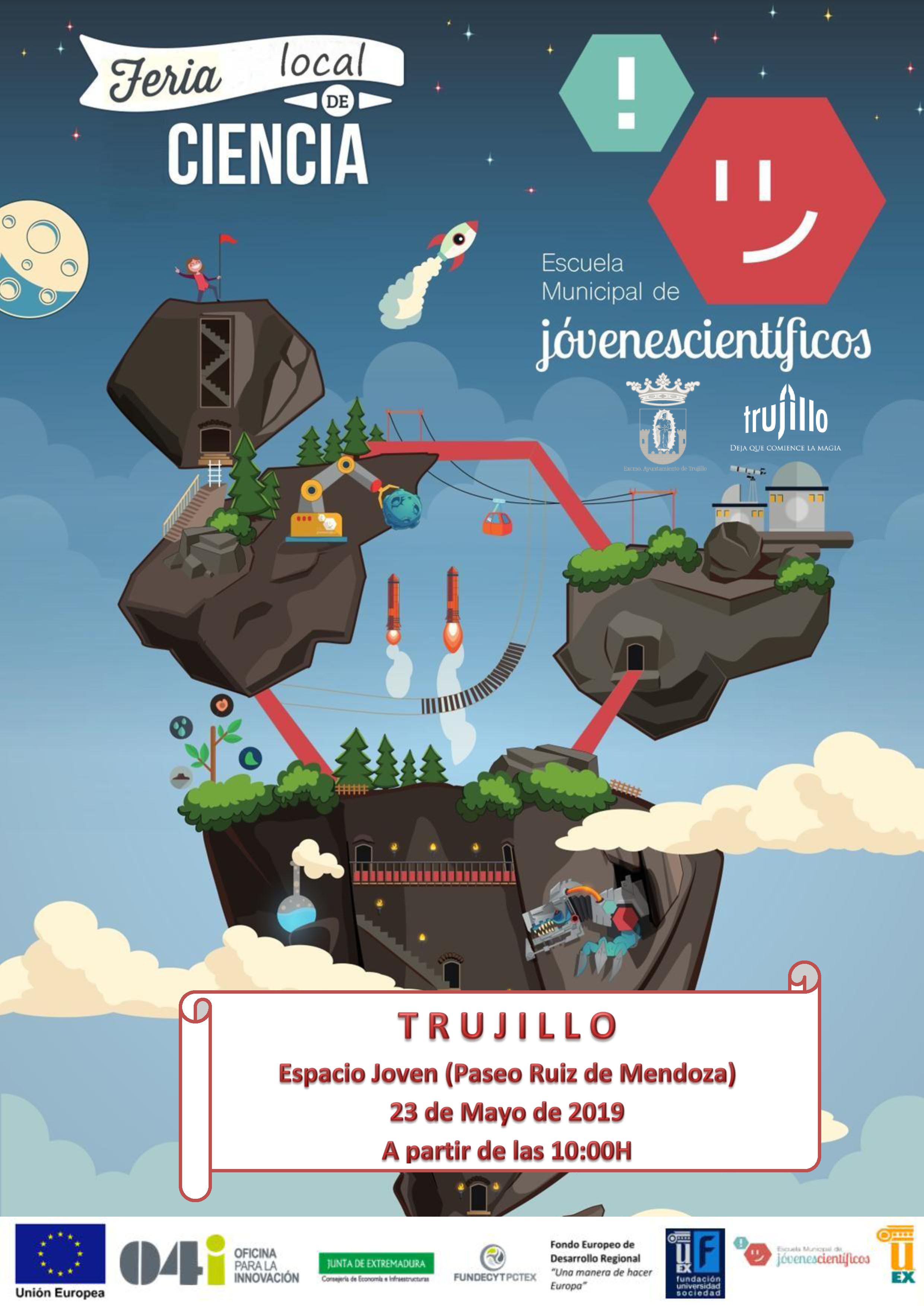Feria local de ciencia 2019 - Trujillo (Cáceres)