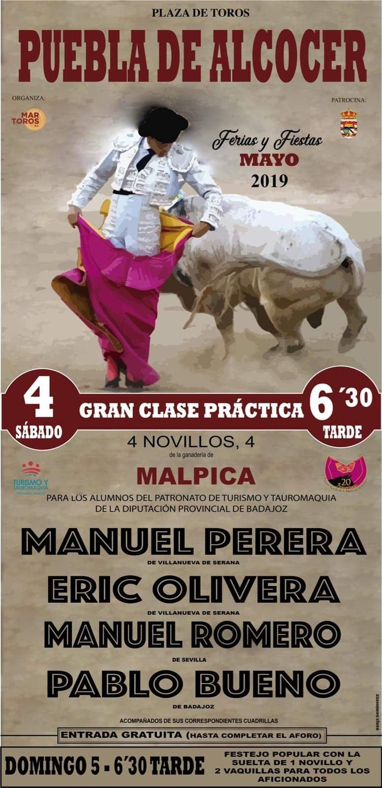 Ferias y fiestas mayo 2019 - Puebla de Alcocer (Badajoz)