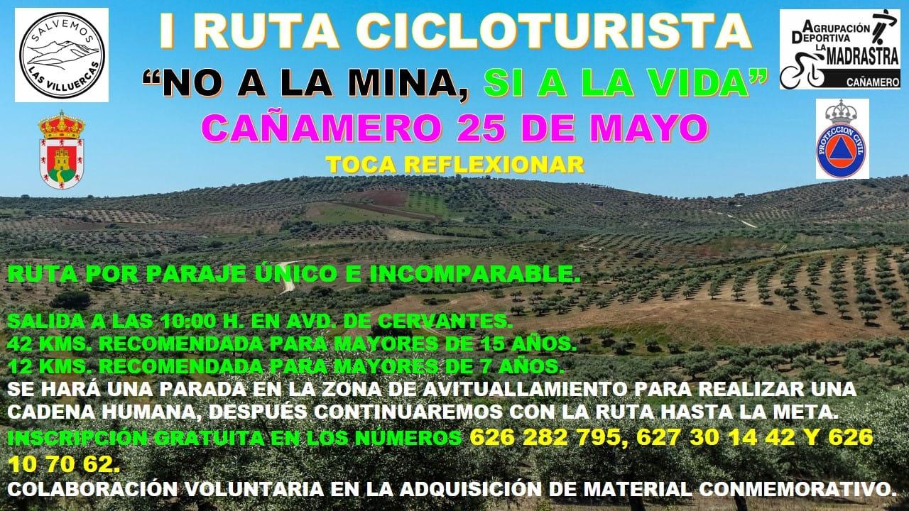 I Ruta cicloturista - Cañamero (Cáceres)