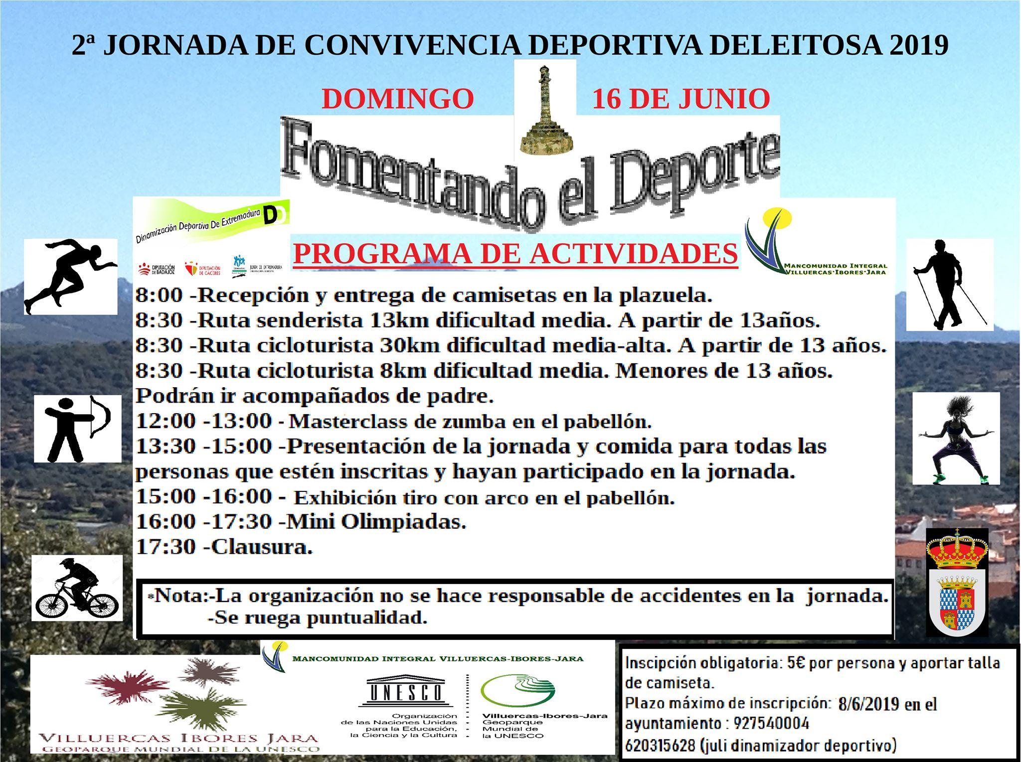II Jornada de convivencia deportiva - Deleitosa (Cáceres)