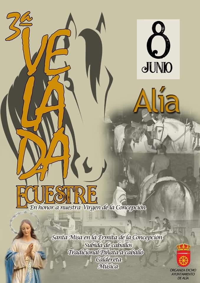 III Velada ecuestre - Alía (Cáceres)