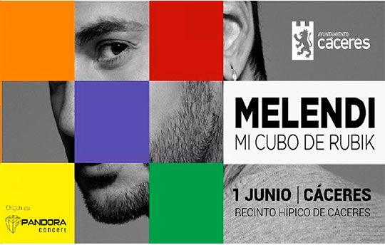 Melendi 2019 - Cáceres