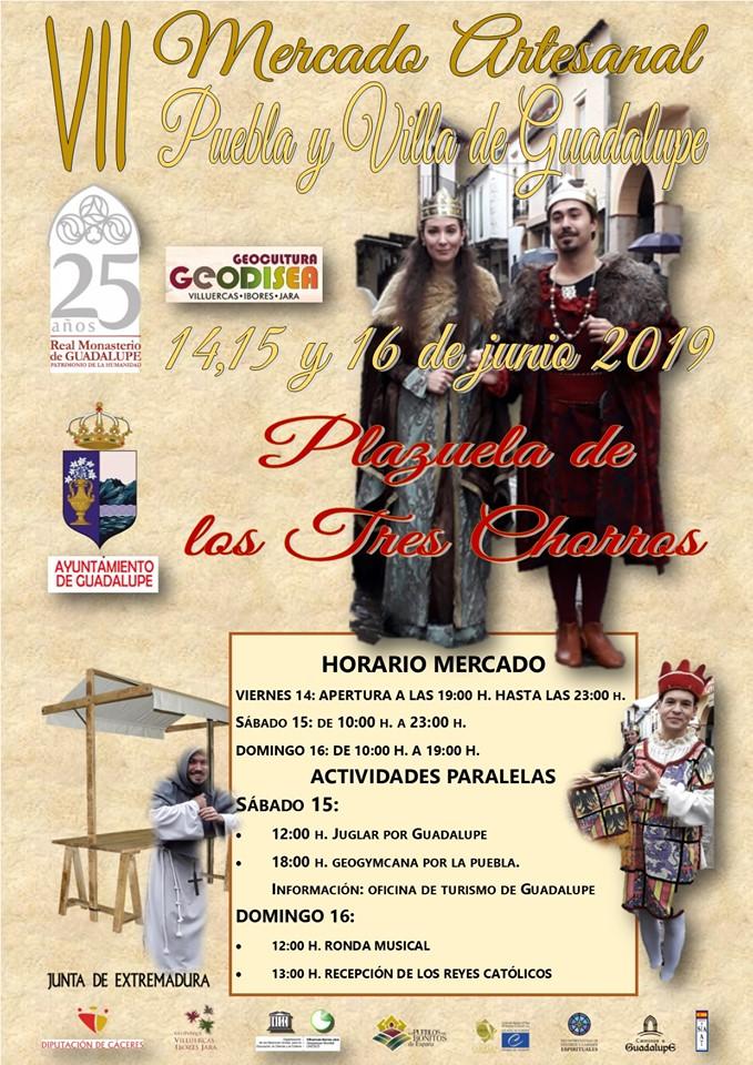 VII Mercado artesanal - Guadalupe (Cáceres)