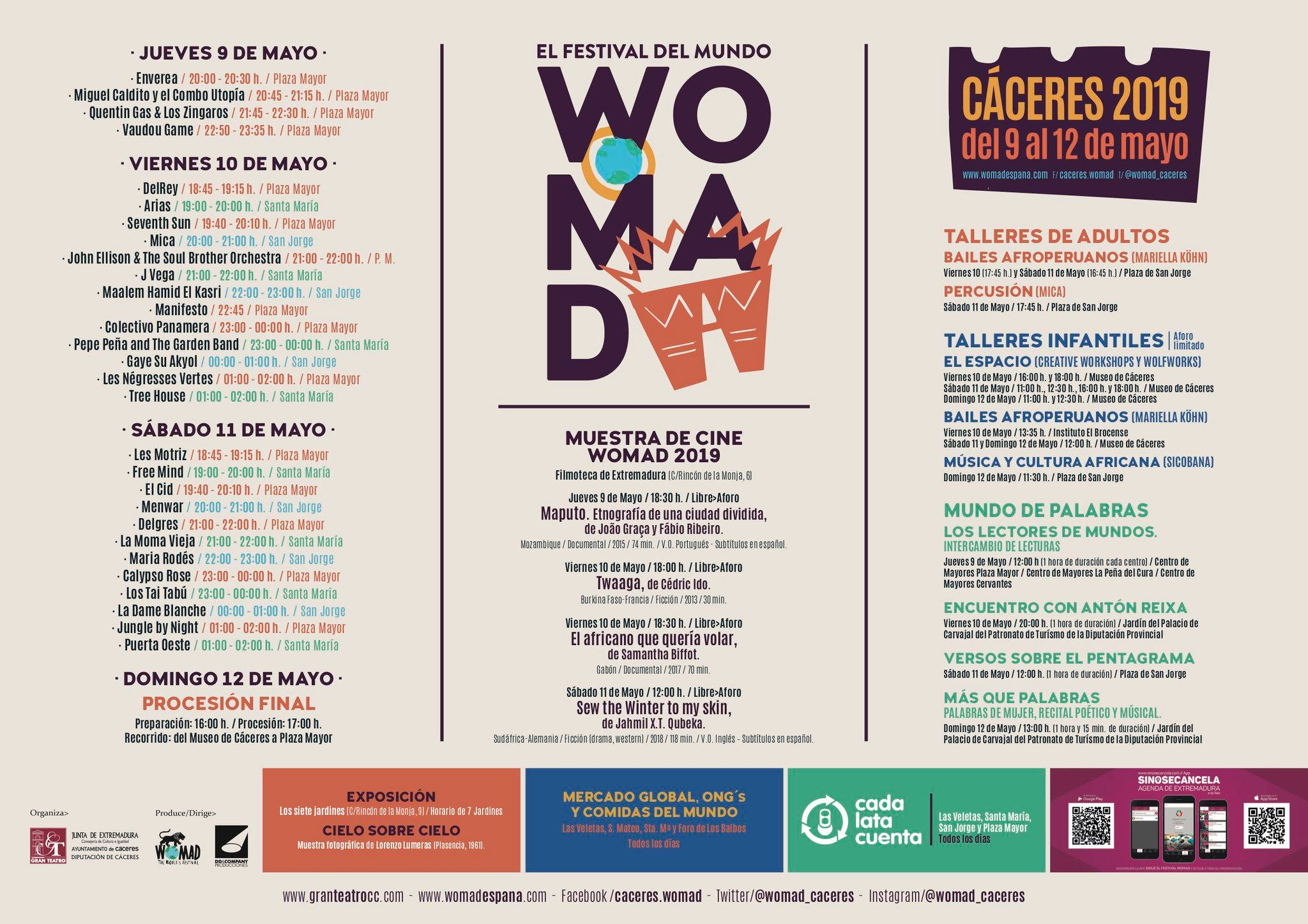 WOMAD 2019 - Cáceres 2