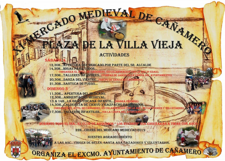 XI Mercado medieval - Cañamero (Cáceres)