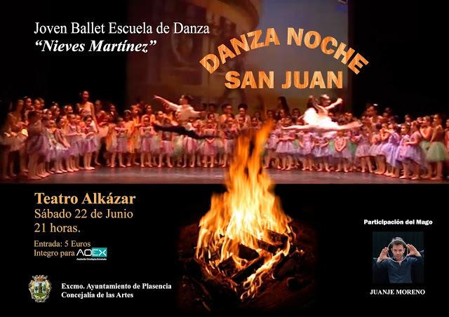 Danza noche de San Juan 2019 - Plasencia (Cáceres)