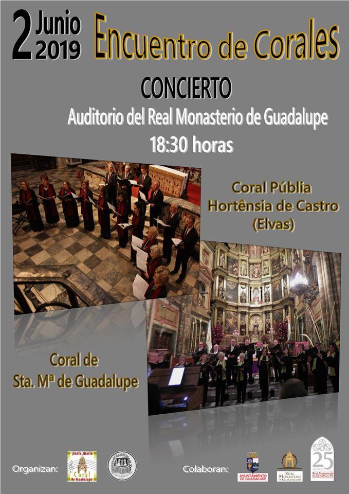 Encuentro de Corales 2019 - Guadalupe (Cáceres)