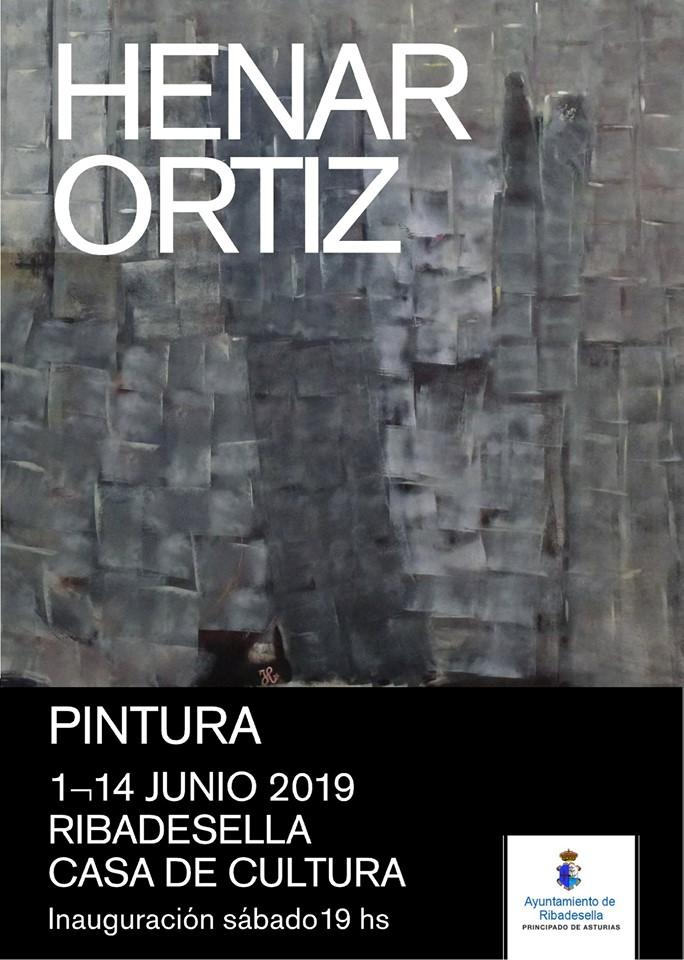 Exposición de pintura de Henar Ortiz 2019 - Ribadesella (Asturias)
