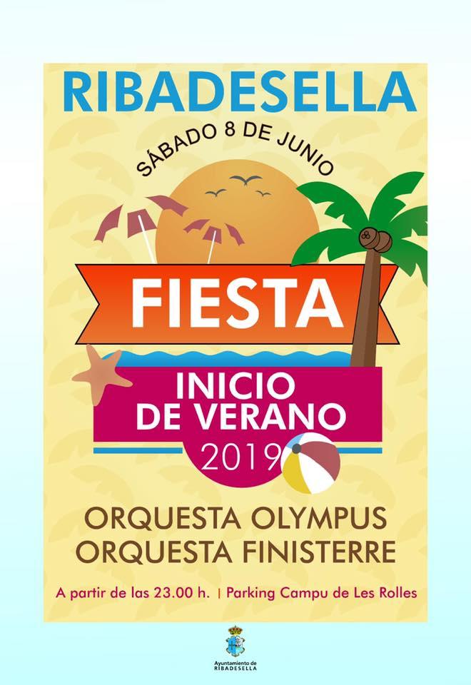 Fiesta inicio de verano 2019 - Ribadesella (Asturias)