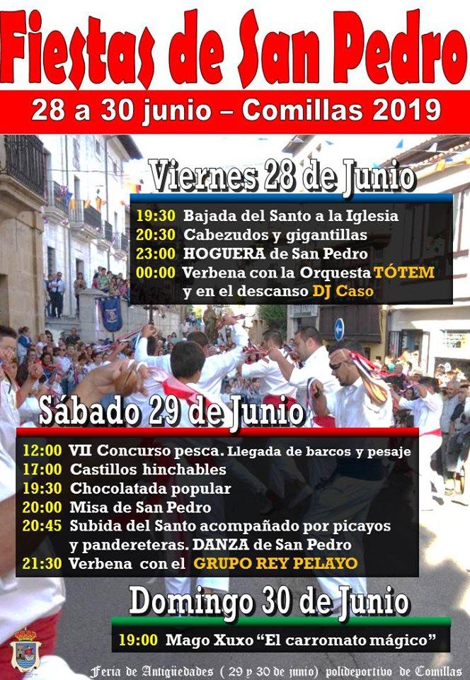 Fiestas de San Pedro 2019 - Comillas (Cantabria)