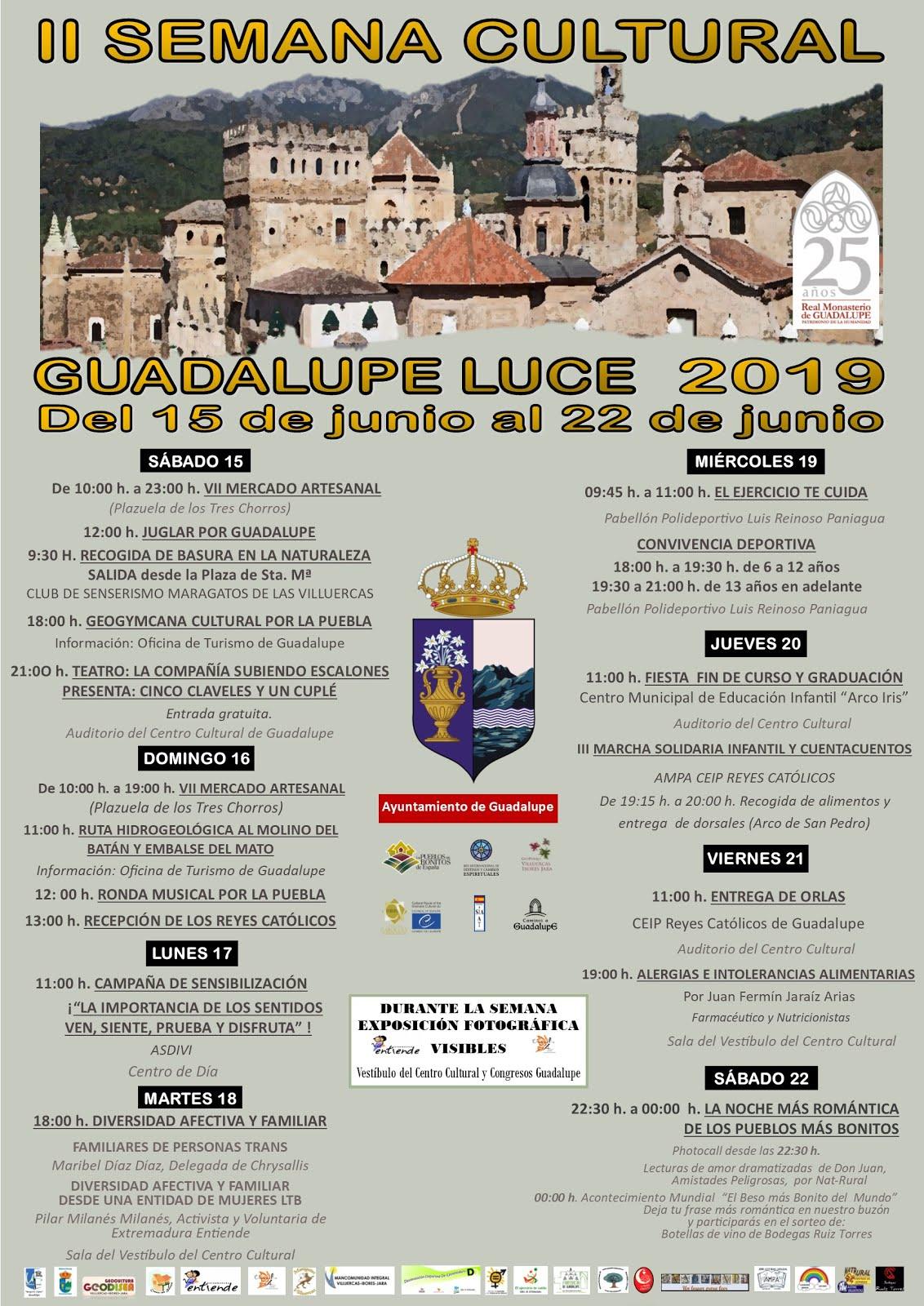II Semana cultural Guadalupe Luce