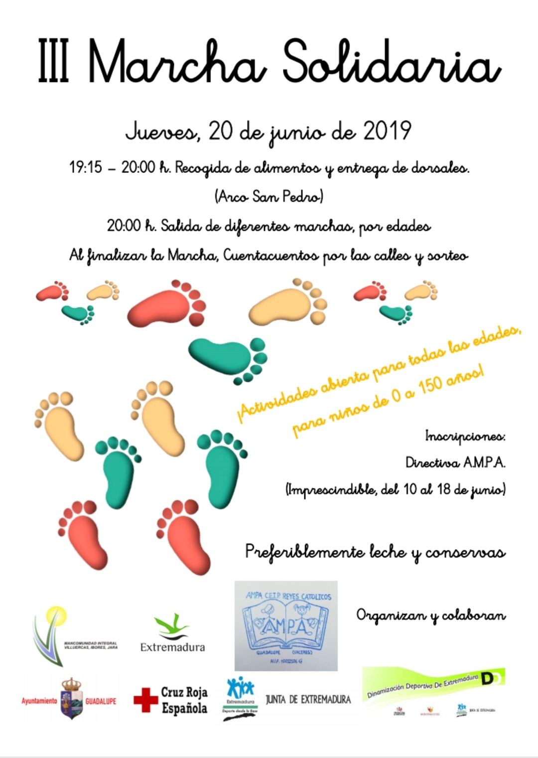 III Marcha solidaria - Guadalupe (Cáceres)