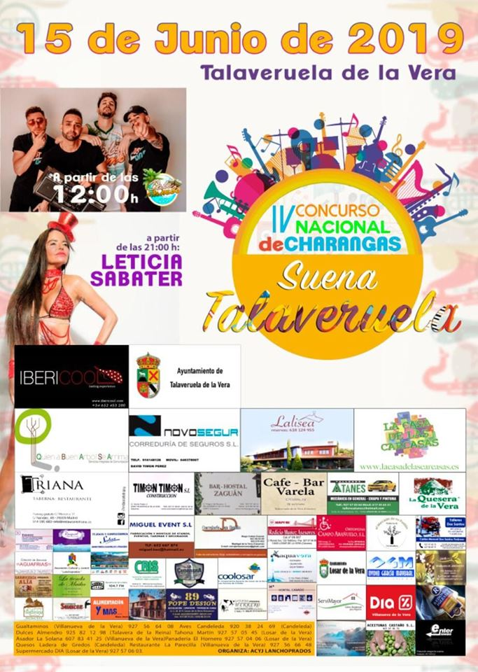 IV Concurso nacional de charangas - Talaveruela de la Vera (Cáceres)