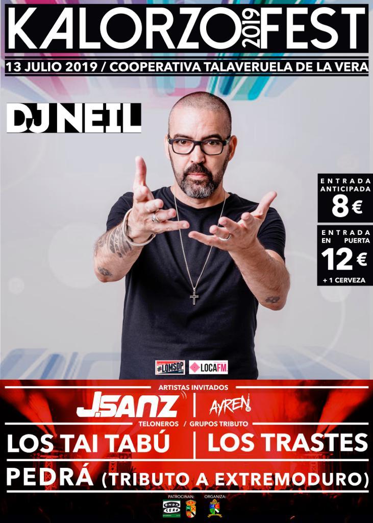 Kalorzo Fest 2019 - Talaveruela de la Vera (Cáceres)