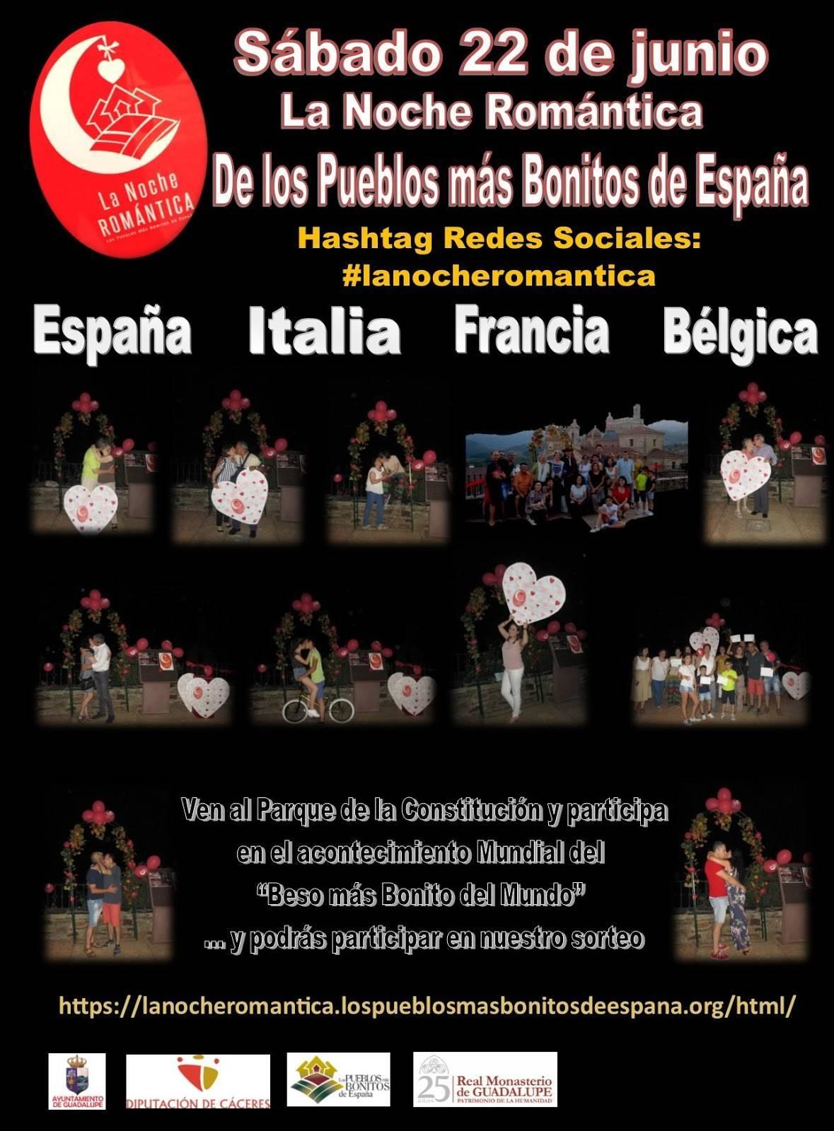 La noche romántica 2019 - Guadalupe (Cáceres) 1