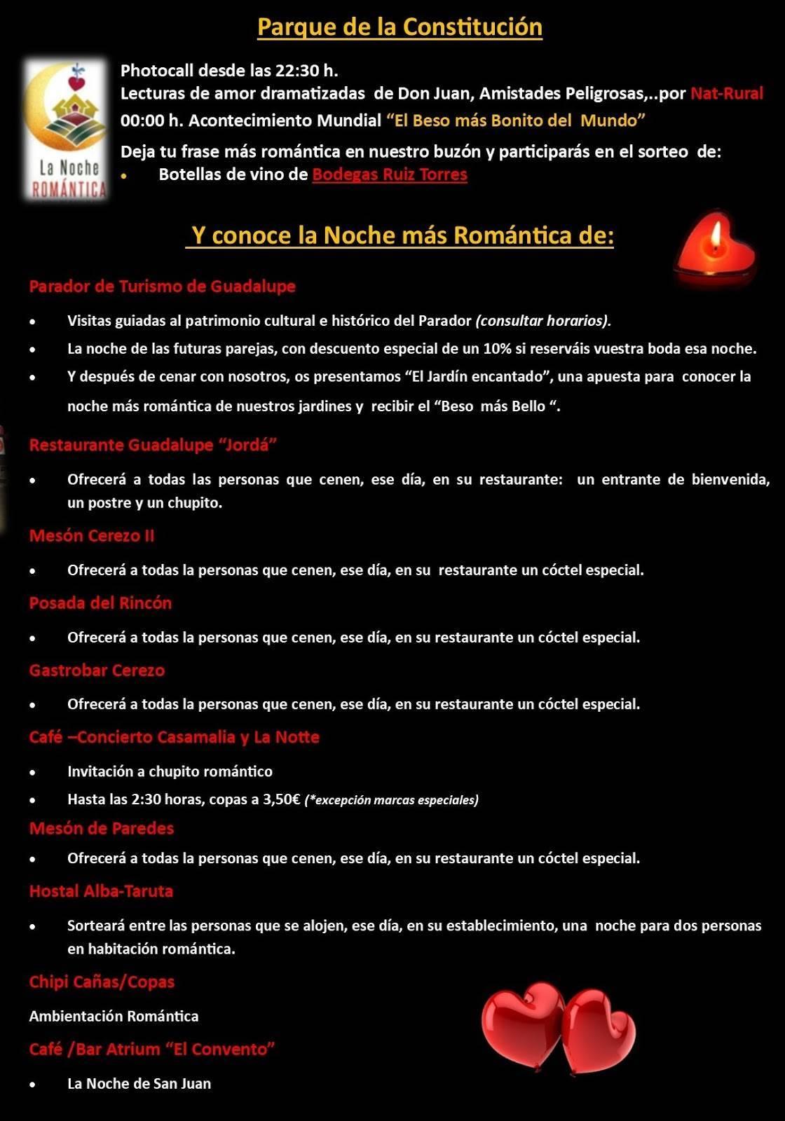 La noche romántica 2019 - Guadalupe (Cáceres) 2