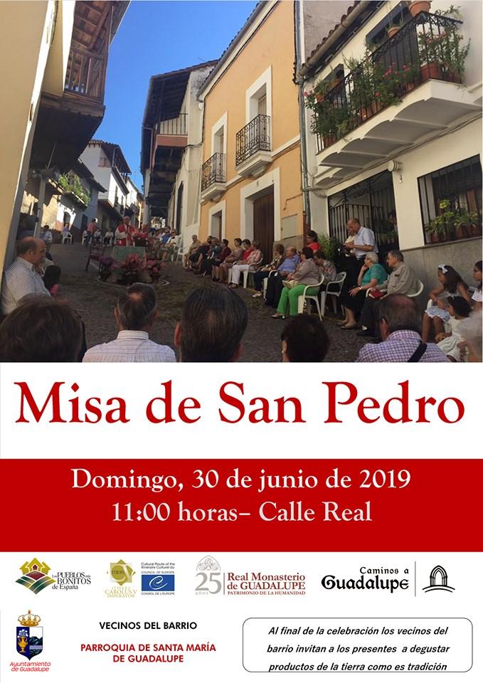 Misa de San Pedro 2019 - Guadalupe (Cáceres)