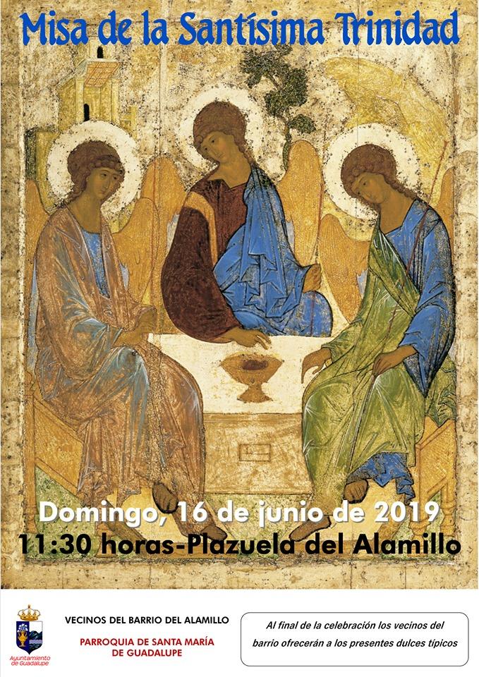 Misa de la Santísima Trinidad 2019 - Guadalupe (Cáceres)
